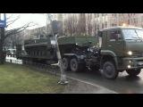 Репетиция парада в честь снятия блокады пр. Непокоренных